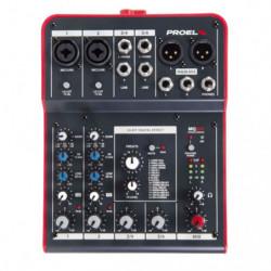 Mixer Proel Mq6fx
