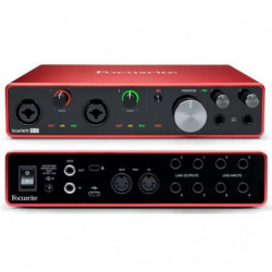 Scheda Audio Usb Focusrite...