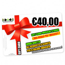 Regalo M/s Gift Card 40
