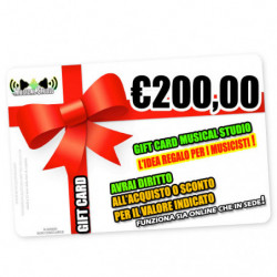 Regalo M/s Gift Card 200