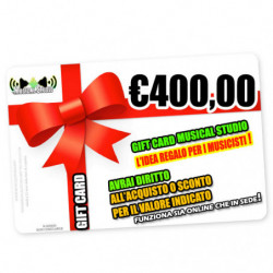 Regalo M/s Gift Card 400